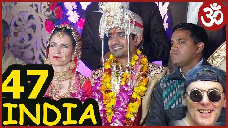 INDIA 47. Индийская СВАДЬБА #1. Как это в Индии? Шведский стол и танцы