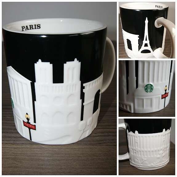 Starbucks mug Paris | Everything Eiffel Tower (Paris ...