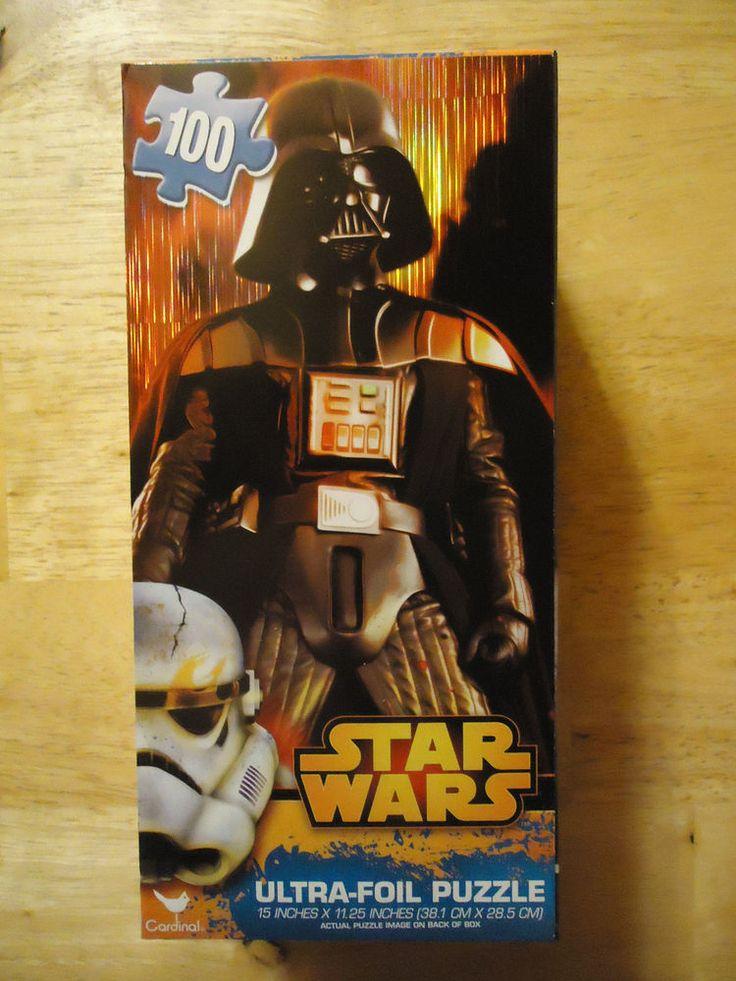 STAR WARS Darth Vader Ultra Foil Jigsaw 100 pieces NEW