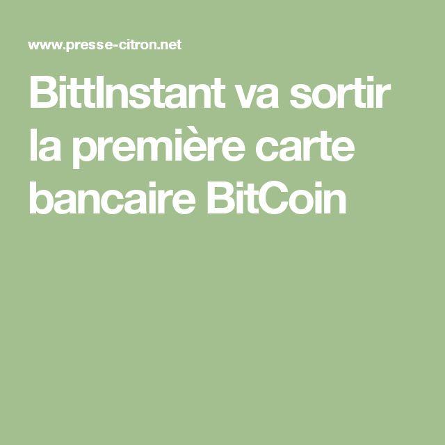 BittInstant va sortir la première carte bancaire BitCoin
