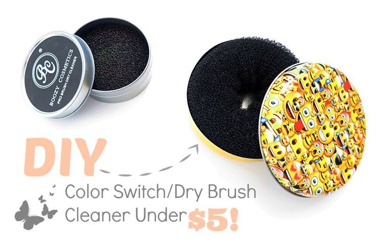 DIY Color Switch (Dry Brush Cleaner) Under $5! - Beauty-Blush