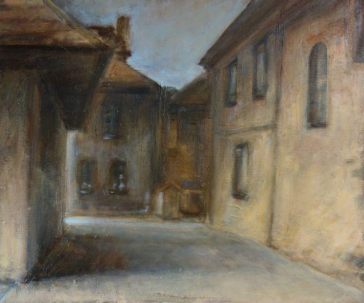 """""""Kazimierz Dln."""", oil, 55x46 cm"""