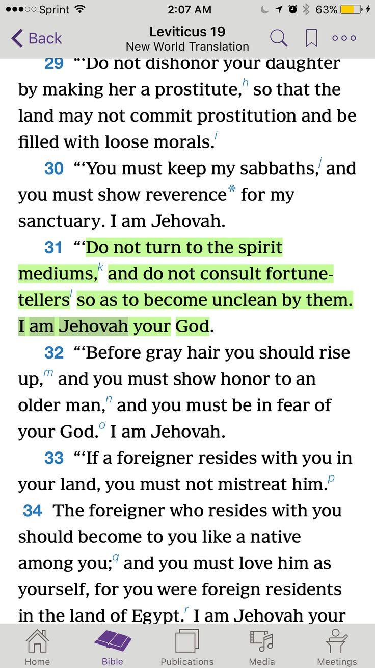 Leviticus 19:31