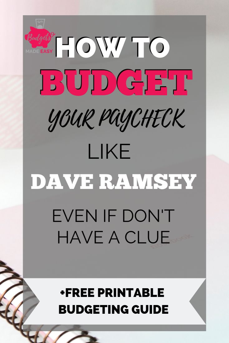 The Simple Way to Budget for Beginners