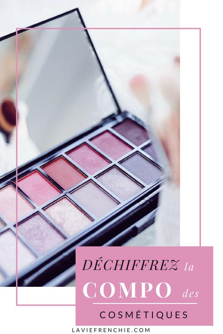 Déchiffrez la composition de vos produits cosmétiques !  #blog #cosmétiques #beauté #produits