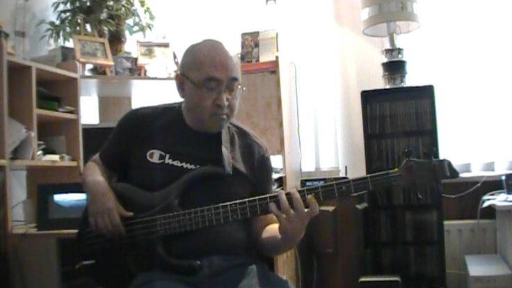 Johnny B Good Chuck Berry basscover bob roha