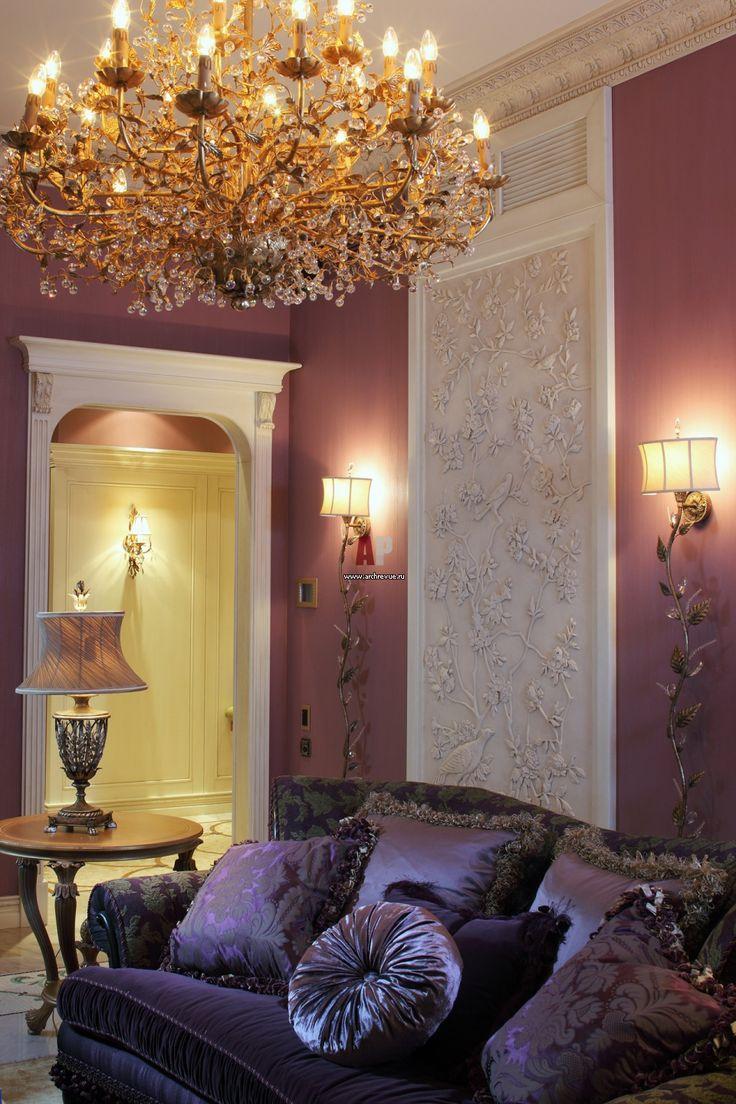 Living Room in the modern style / Гостиная квартиры в стиле модерн