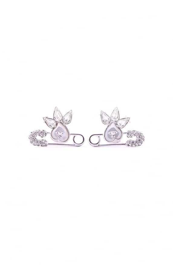 Vivienne Westwood Jewellery glitzy jordan earrings