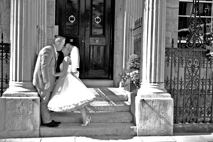 A kiss is a lovely trick, designed by nature, to stop words when speech becomes superfluous. ~ Ingrid Bergmen ~ Wedding at Chandos House #wedding #weddingvenue #bride