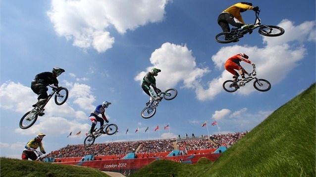 BMX semi-finals - London 2012 Olympics