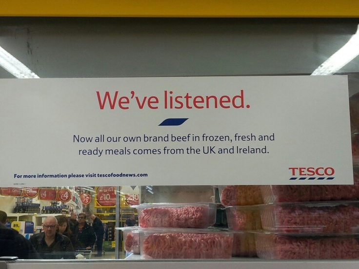 tesco s horsemeat scandal Crisis management insights from horse meat: more than a year on from the outbreak of the horsemeat scandal, the uk's biggest crisis tesco's response to.
