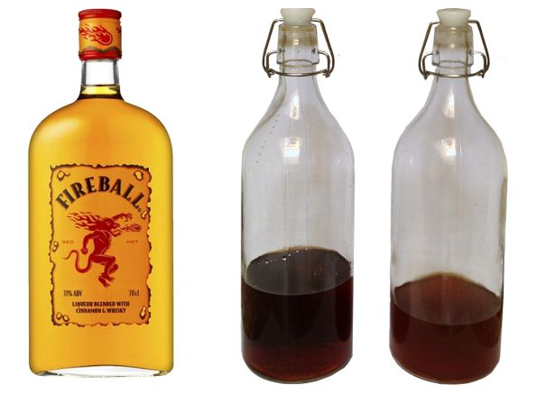 how to make fireball with everclear