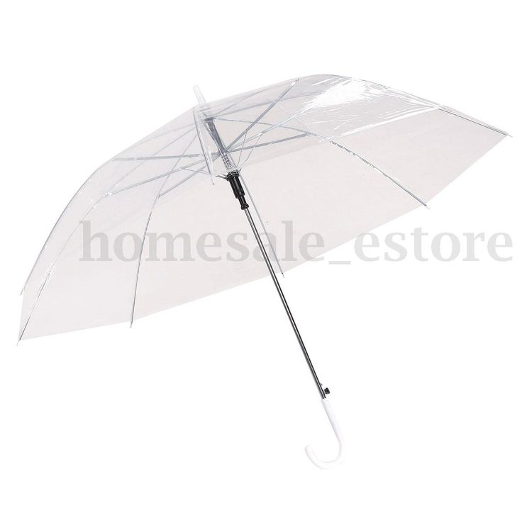 Fashion Transparent Colorful Parasol Sun Rain Umbrella Panel for Wedding Party