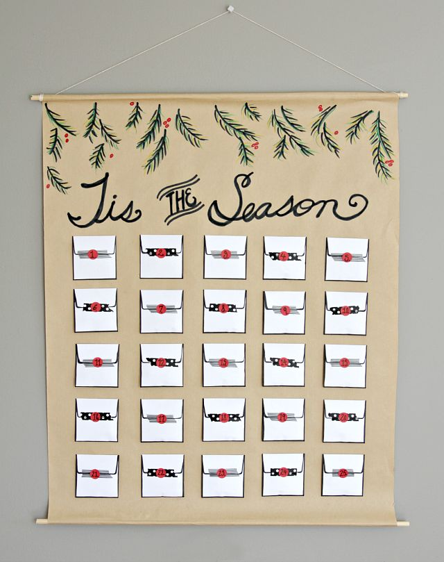 Diy Chocolate Advent Calendar : The best chocolate advent calendar ideas on pinterest