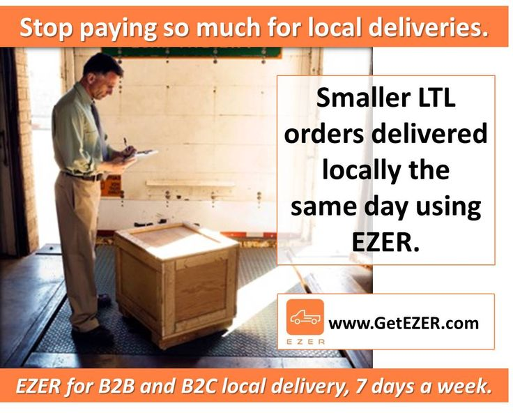 Use EZER for smaller LTL local orders to save time and money.      #B2C #B2B #B2Me #D2C #LocalDelivery #SameDay #eCommerce #Fulfillment #Logistics #Distribution #SupplyChain #Business #LastMile #Courier #Parcel #LTL #Suppliers #OnDemand #OfficeDelivery #LA #SoCal #SouthernCalifornia #InlandEmpire #IE #MIN #MN #StPaul #GetEZER
