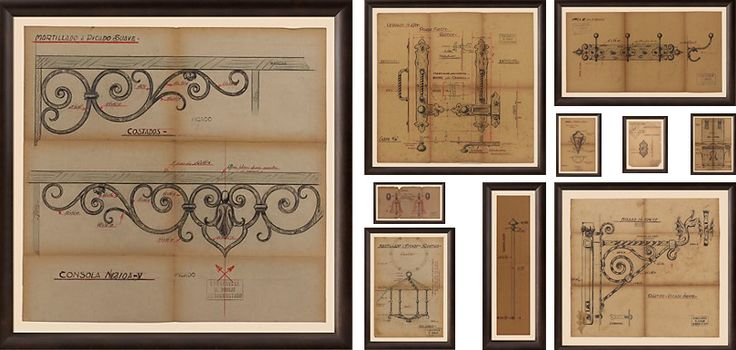 The Amazing Birdcage Chandelier    Actual drawings framed!!!!!    MOM'S SKETCHES!!!!!!!!!