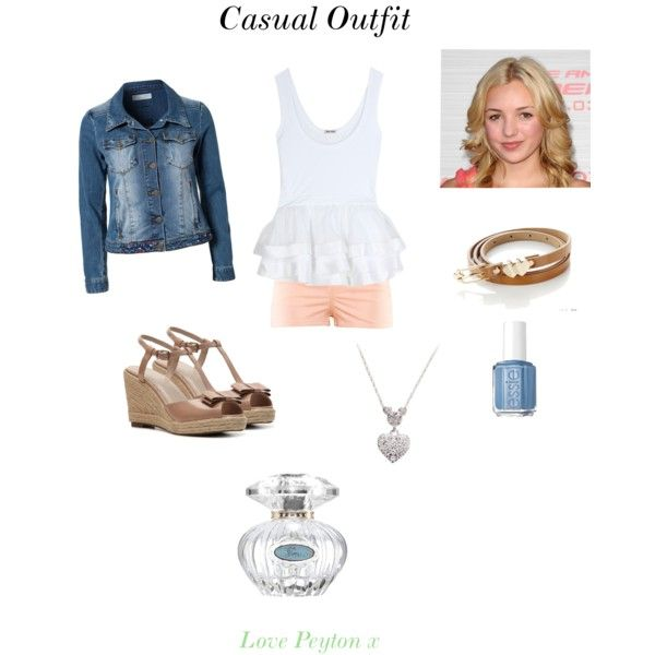 Casual Outfit Peyton List Peyton List Casual Outfits