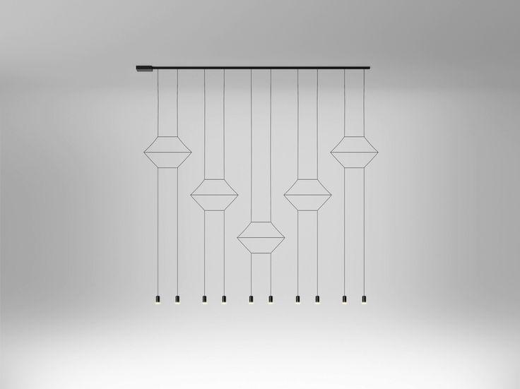 LED pendant lamp WIREFLOW by Vibia design Arik Levy