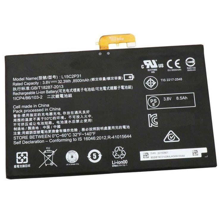 Lenovo L15c2p31 Akku 8500mah 32 3wh 3 8v Entladung Tablet Netzteile