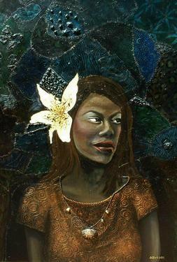 "Saatchi Art Artist Cherie Roe Dirksen; Painting, ""The Beauty Within"" $2500 #art"