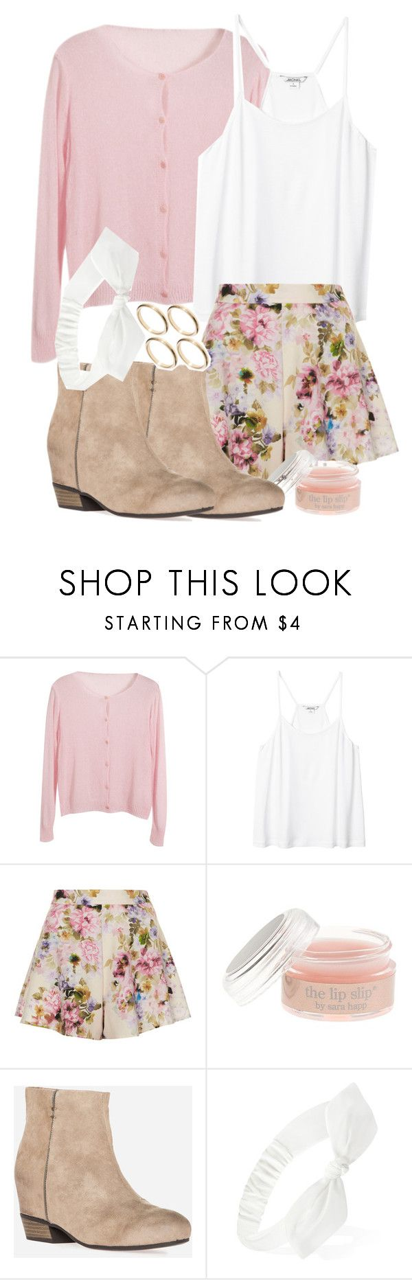 """""""Lydia Inspired Affordable Barbecue Outfit"""" by veterization ❤ liked on Polyvore featuring Chicnova Fashion, Monki, Oh My Love, J.Crew, Forever 21 and ASOS"""