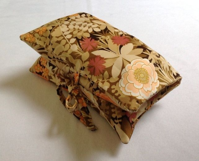 Vintage Floral Nappy & Wipes Case £7.50
