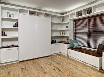 Featured Home Office/Murphy Bed Project - contemporary - home office - minneapolis - Closets For Life
