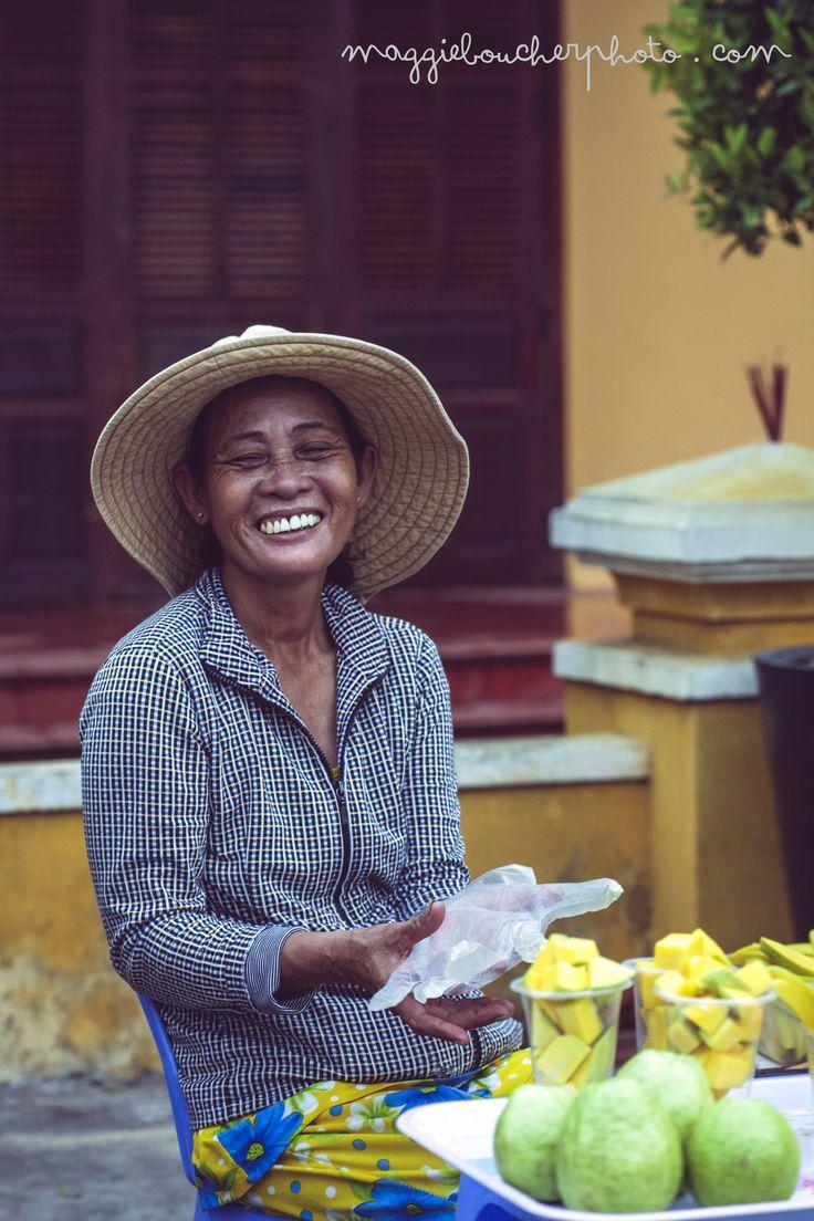 Smile. Hoi an old town, vietnam  http://www.maggieboucherphoto.com
