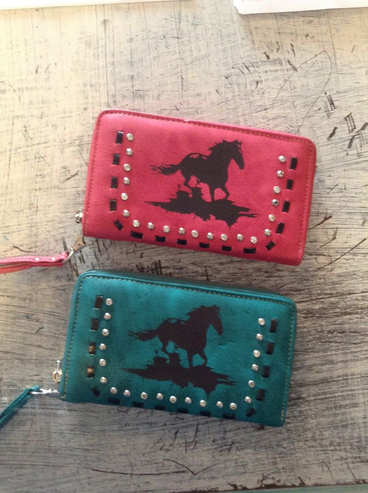 Southern style wallet - horse