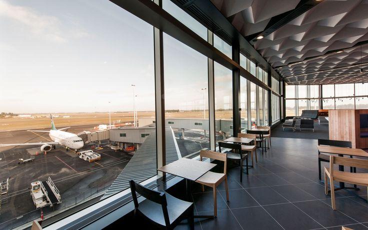 Hawk chairs by Simon James Design @ Air New Zealand Kuro Lounge Christchurch