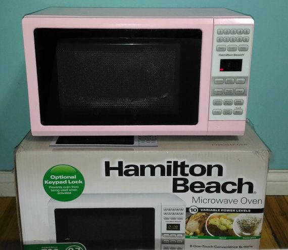New Pink Microwave Pink Hamilton Beach Microwave Oven