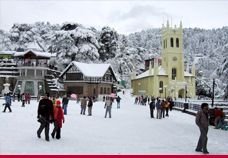 Shimla is one of most visited and popular tourist spot of India and located in Himachal Pradesh. Shimla is connected from Delhi via chandigarh and has most famous sightseeing. There are many famous temples, parks, beautiful hills and mall. in the spring season Shimla is very charming and beautiful  by the pink blossoms and white flowers while the senior slope are glowing by beautiful rhododendrons. In the autumn season the sky is very clear and blue also.