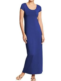 Women's Maxi Jersey Dresses | Old Navy