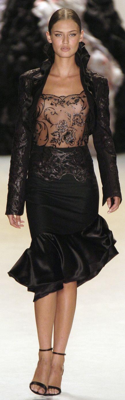 Bianca Balti for Carlos Miele