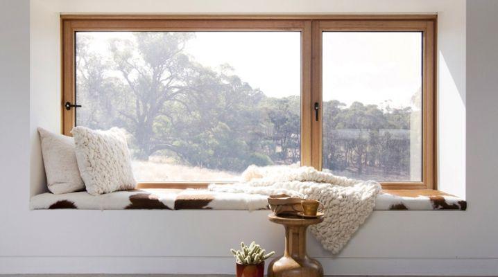 Les 25 meilleures id es de la cat gorie appui fenetre sur for Habillage fenetre baie window