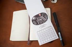 Resultado de imagen para calendarios creativos hechos a mano
