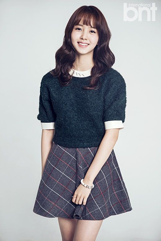 Kim So Hyun - bnt International December 2014