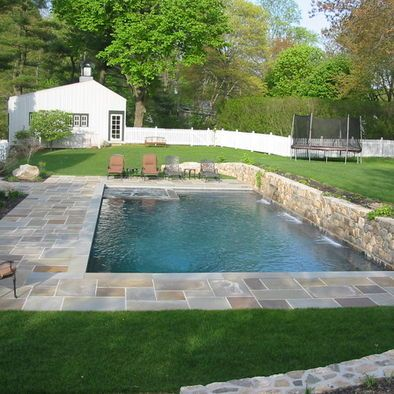 Best 25 Stone Around Pool Ideas On Pinterest