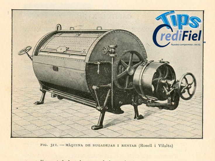 TIPS CREDIFIEL te dice. La historia de las secadoras se remonta a  principios de 1800 principalmente en Francia  e Inglaterra que fueron allí donde se diseñaron los primeros modelos. Los cuales eran muy distintos a los que conocemos en la actualidad, es mas ni siquiera se llamaban  secadoras las llamaban ventiladores. Eran unos grandes tambos con agujeros que se impulsaban con manivelas algo rudimentarios e ineficientes.