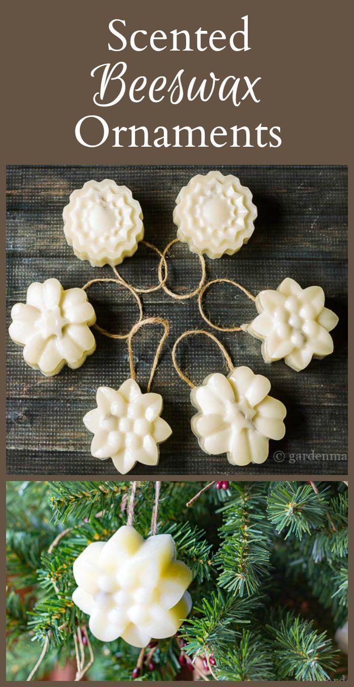 Scented Beeswax Ornaments To Brighten Your Tree Beeswax Candlesholiday Tree Diy