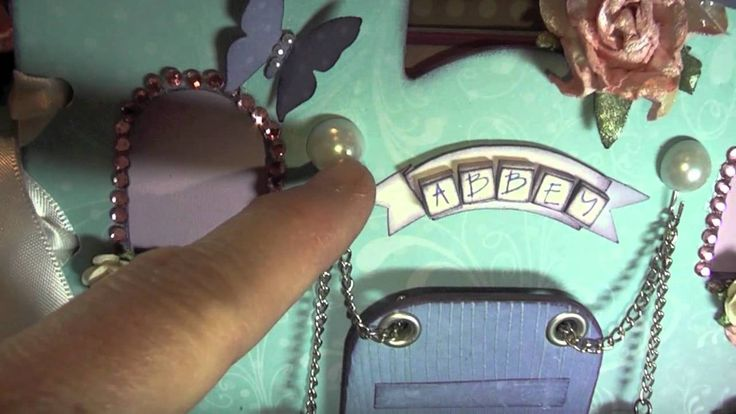Fairy Castle Mini Album with KaiserCraft.mov