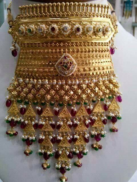 Rajputana add with pure rubi by Dulhan Jewellers Pali 9828283403