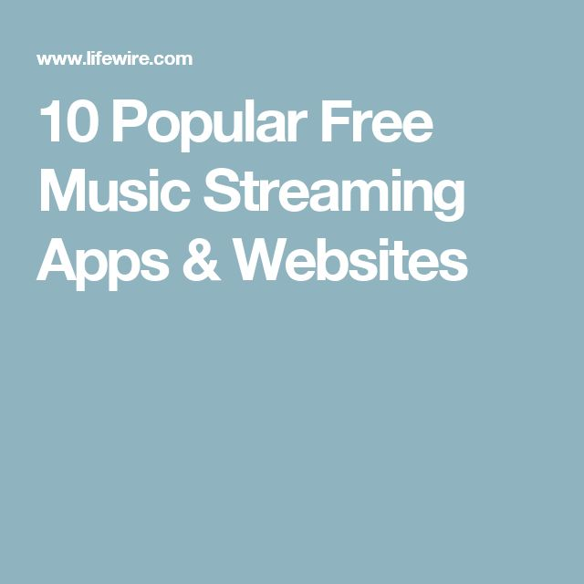 10 Popular Free Music Streaming Apps & Websites