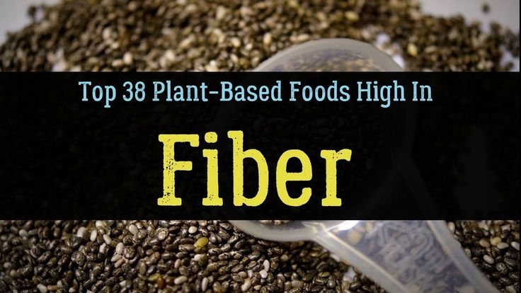 Top 38 Plant-Based Foods High InFiber- Soluble & Insoluble (List)