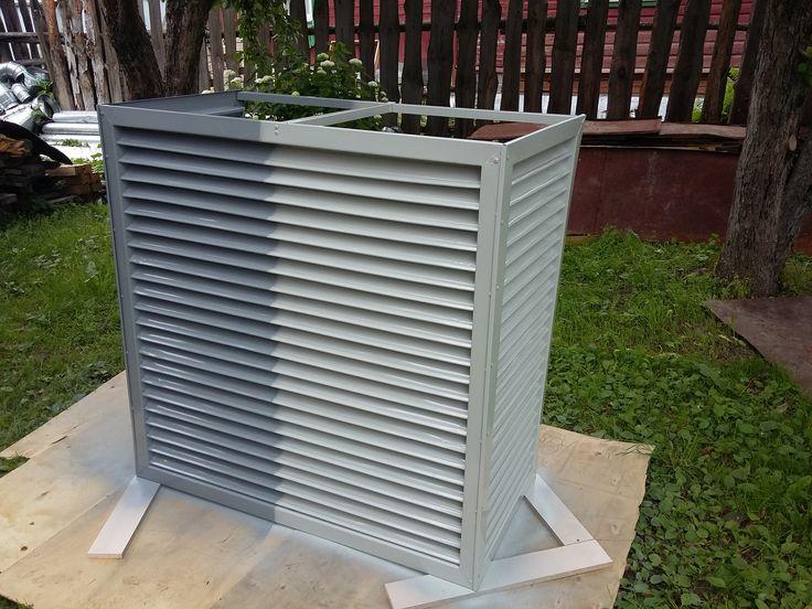 Как сделать так, чтобы наружный блок кондиционера не портил фасад внешним видом? - Тепло-Холод