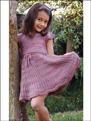 Sweet Baby Jane Knitted Dress Pattern US$4.99 ..... Maybe one day for Ella?