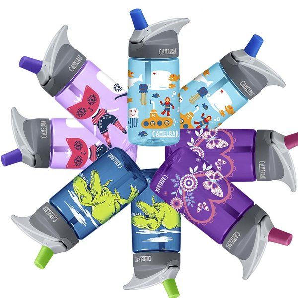 Cute Camelbak eddy Kids 400ML Water Bottle BPA Free Spill Proof | Brisbane Australia | Energia Sports - Online Endurance Sports Shop
