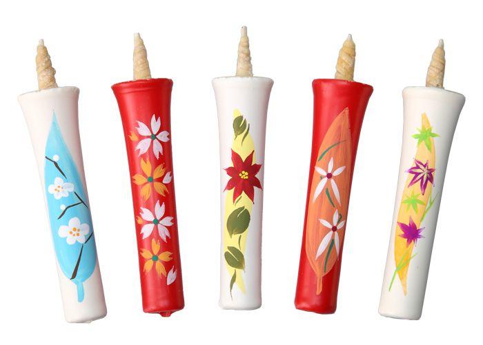 絵蝋燭【楽天市場】Japanese Traditional Candles