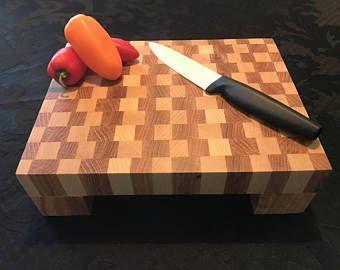 Mini End Grain Cutting Board / Chopping Block