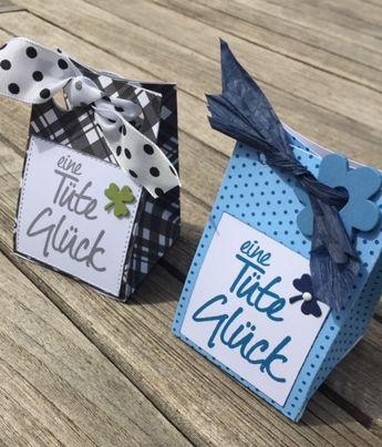 papierZART : Geschenktüte selbst gemacht, Geschenk, Mitbringsel, kleine Tüte gefaltet, Verpackung